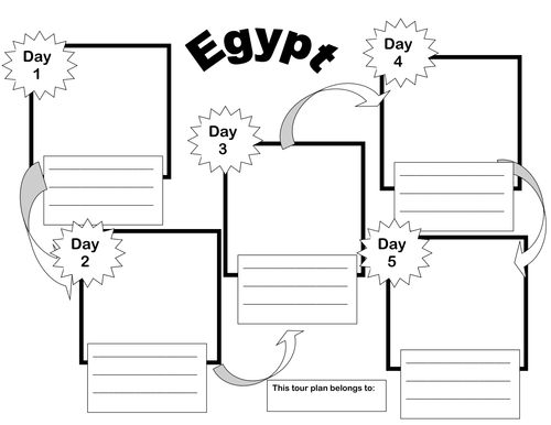 Ancient Egypt Planning, Resources, Active Inspire