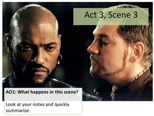 Othello act 3 scene 3 essay