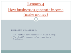Unit 2: Finance for Business (BTEC Level 2 First Award in Business)