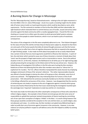 Higher personal essay english