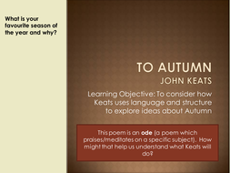 ode to autumn notes