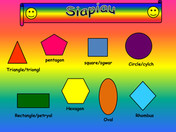 a powerpoint exploring the use of shapes in artwork by ljj290488