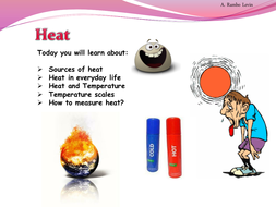 heat and temperature physics by teacher rambo teaching resources tes. Black Bedroom Furniture Sets. Home Design Ideas