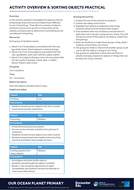 Activity Overview 8: Sorting objects practical.pdf