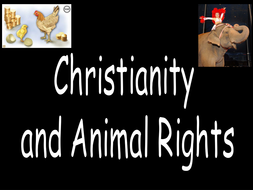 christian views on animal rights template lesson resource pack by charleshaydnslater. Black Bedroom Furniture Sets. Home Design Ideas