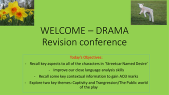 REVISION PACK - STREETCAR AND POEMS OF THE DECADE