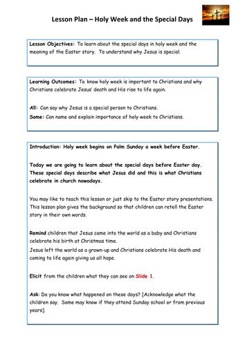 Easter Sunday School Lesson Plans Driveeapusedmotorhomefo