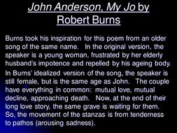 robert burns john anderson
