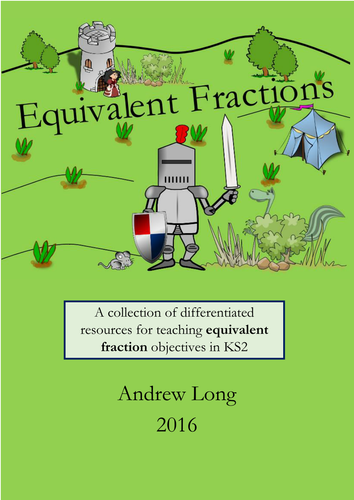 KS2: Equivalent Fractions Resource Pack by mrajlong - Teaching ...