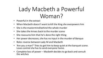 lady macbeth description