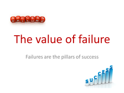 The Value Of Failing >> Inspirational Assembly The Value Of Failure Ks2 Ks4 Pshe By