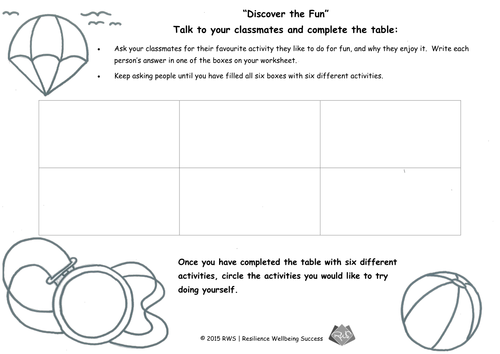 Happiness and Wellbeing Free Lesson Resources (KS2) by RWSuccess ...
