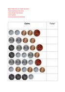 Year 2 Adding Coins