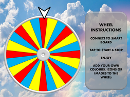 wheel of fortune word game in powerpoint improved includes