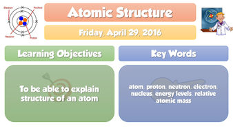 Gcse chemistry atomic structure full lesson new 2016 by adg tes gcse chemistry atomic structure full lesson new 2016 ccuart Gallery