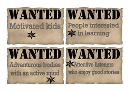 positive pupils wanted posters by carolwashy teaching resources tes