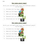 RE - How does Jesus inspire Christians - Year 3 - complete scheme available - Lesson 4