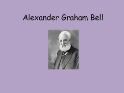 Alexander Graham Bell Ppt And Activity Perfect For Science Week  Alexander Graham Bell Ppt And Activity Perfect For Science Week