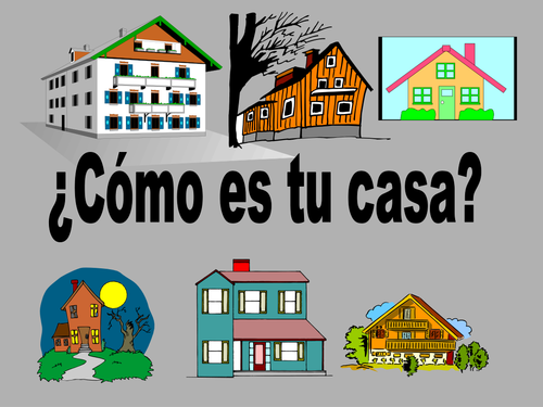 Como es tu casa by delnon teaching resources tes - Como reformar tu casa ...