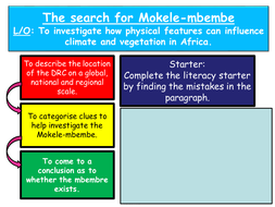 The-search-for-Mokele-mbembe.ppt
