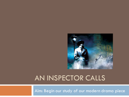 GCSE An Inspector Calls Lessons
