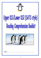 KS1/LKS2 SATS style Reading Comprehension Booklet 1