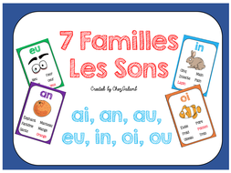 Les Sons 7 Familles - French Phonetics by chezgalamb   Teaching