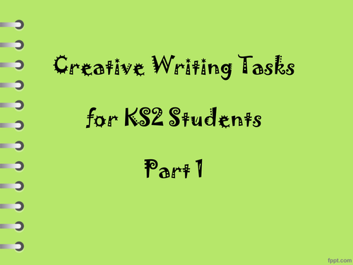 Creative Writing Prompts Ppt ―