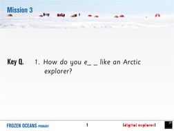How do you eat like an Arctic explorer? KS2 Science