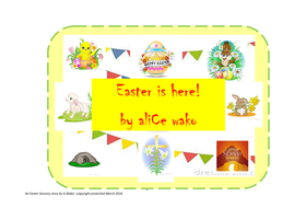 Easter is here (A multi-sensory Easter story)
