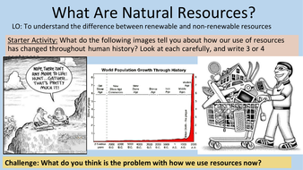 Natural Resources - Renewable and Non-Renewable