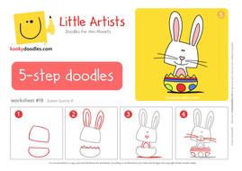 Peer Pressure Worksheet Pdf How To Draw An Easter Bunny Worksheet By Kookydoodles  Teaching  Printable Grids Worksheets Word with Direct And Indirect Object Worksheets Worksheeteasterbunnylapdf Ecological Footprint Worksheet