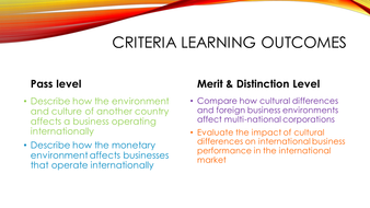 impact of cultural environment on international business