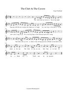 The Club At The Cavern sheet music.pdf