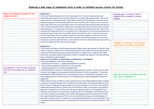 Writing An Explanation In Response To Different Moral