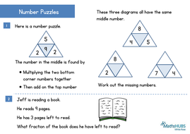 reasoning problem solving number puzzles ks1 and shape problems ks2 march 14th by. Black Bedroom Furniture Sets. Home Design Ideas