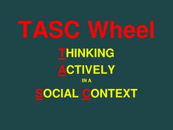 Arabic mfl tasc wheel thinking actively in a social context a activity ppt toneelgroepblik Choice Image