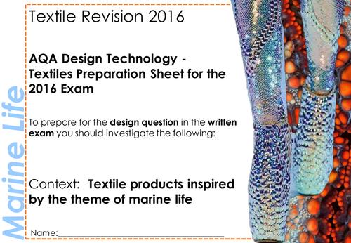 Textiles GCSE help!!?????