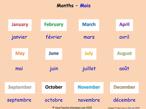 Characterization Worksheets Word Months In French Ks Worksheets Activities And Flashcards By  Letter E Tracing Worksheets Word with Consonant Blends Printable Worksheets Months In French Ks Worksheets Activities And Flashcards By  Saveteacherssundays  Teaching Resources  Tes Ordinal Numbers Worksheet