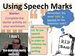 Patterns In Numbers Worksheets Word Punctuation  Speech Marks  Full Lesson Powerpoint And Worksheets  Surface Area Worksheets Grade 8 Excel with Free Worksheet For Nursery Kids Pdf Usingspeechmarkspptx Speechtasksworksheet  O Captain My Captain Worksheet Answers Excel