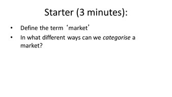 Market Structures (Interactive with Exam Question Breakdowns)