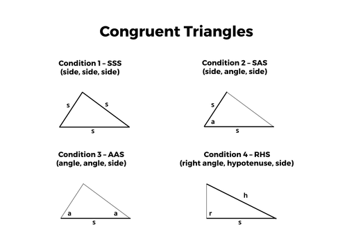 Similarity Congruence Complete Unit of Work by tomotoole – Congruent Triangles Worksheet