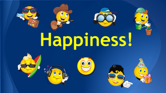 PSHE Teaching Resources  Happiness Motivational PowerPoint