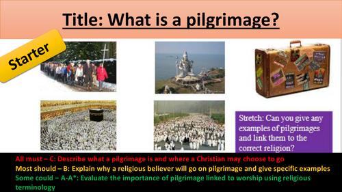 Aqa Gcse Pilgrimage Christianity Unit By Emmastar69 Teaching