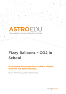 Fizzy Balloons – CO2 in School