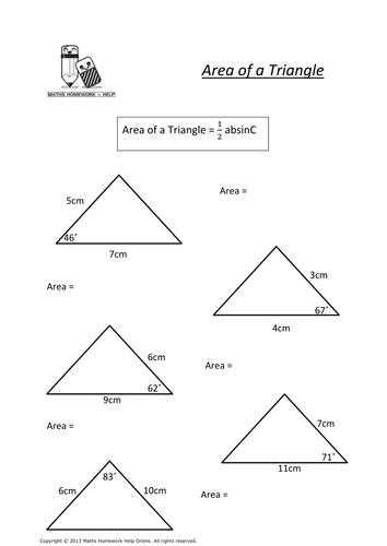 Higher Tier A To A Maths Topic Worksheets By Claire1580