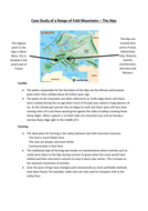 The Alps - Geography GCSE Case Study
