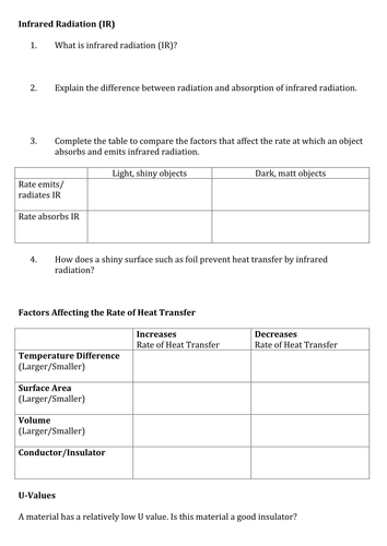 AQA GCSE Science A Worksheets for Physics, Biology and Chemistry ...