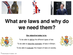 why do societies have laws