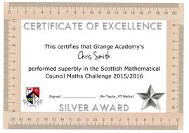 Maths certificate template by aap03102 teaching resources tes maths certificate template yadclub Gallery